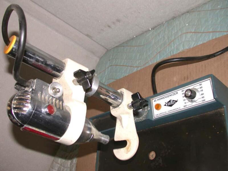 Virtis 45 Tissue Homogenizer 45000 RPM w/ stand & speed control