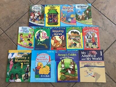 A Beka 1st Grade 13 Book Lot - Readers & Teacher Letters & Sounds Health Safety+, used for sale  Fountain Valley