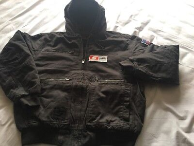 Snap On Heavy Weight Hooded Canvas Jacket. XXL. New. Delivered 2018 for sale  Shipping to India