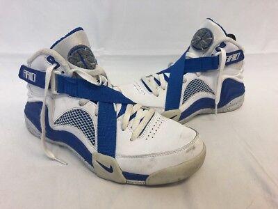 Nike Lunar Raid Size 10 White/Royal/Pure Platinum/Military Blue 654480 100 Retro