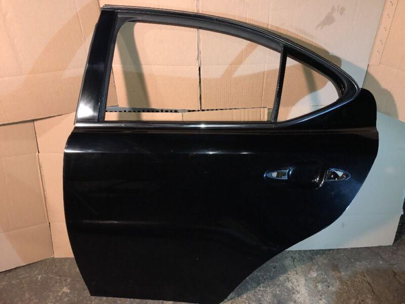 2005 - 2013 LEXUS IS220 IS250 REAR LEFT DOOR BARE BLACK NSR POSSIBLE DELIVERY