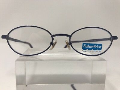 Fisher Price Eyeglasses CLEARVISION 44-16-125 MARY JANE PURPLE Metallic 226
