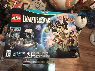 NEW LEGO MOVIE Dimensions: Starter Pack 71174 (Nintendo Wii U, 2015)