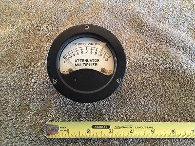 Military Radio Sealed Panel Meter Fs 50 Ua Me 179