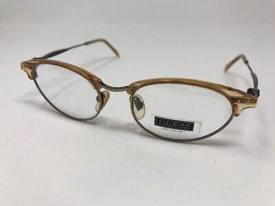 Guess Eyeglasses GU 4030 BRN AG 50-19-140 Cat Eye VTG Frames C112
