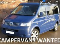 Cash today vw transporter t5 wanted panel van or campervan