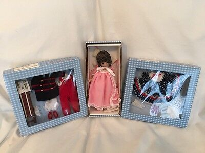 "8"" Betsy McCall BEDTIME STORIES DOLL w/ SWEET DOTS & SLEIGH RIDING OUTFITS NEW!"