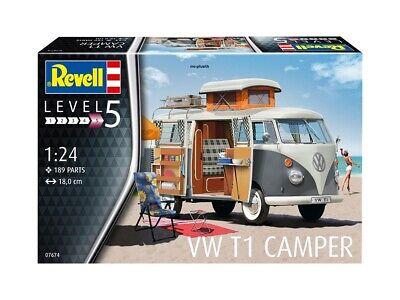 Revell 07674 - 1/24 VW T1 Camper - Neu