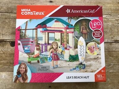 Mega Construx American Girl Leas Beach Hut Building Set