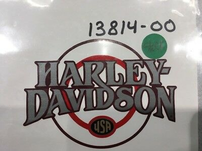 Harley Davidson Fuel Tank Decal 13814-00