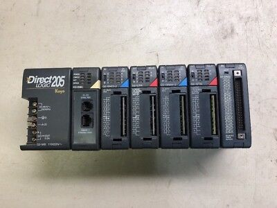 Koyo Direct Logic 205 D2-06b H2-ebc D2-16nd3-2d2-32nd3