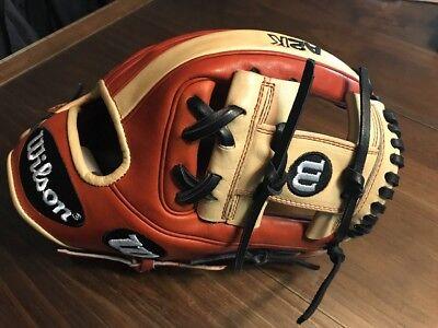 Wilson A2k 1786 Infield Baseball Glove 11 5 Right Hand Throw Model Wta2krb181786