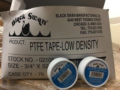 10 Rolls Teflon Pipe Thread Tape 34 X 520 Mil Spec Ptfe Plumber Plumbing New