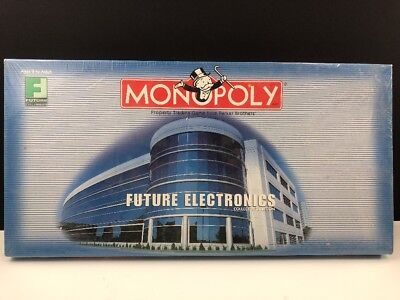 Future Electronics (Monopoly Future Electronics Collectors Edition -NEW & FACTORY SEALED-2001 Hasbro)