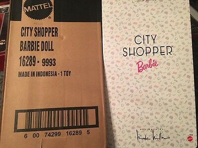 Barbie City Shopper Macy's Exclusive NRFB & Shipper