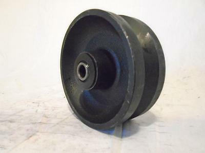 5 X 2 V-groove 78 Iron Steel Caster Wheel 900lbs
