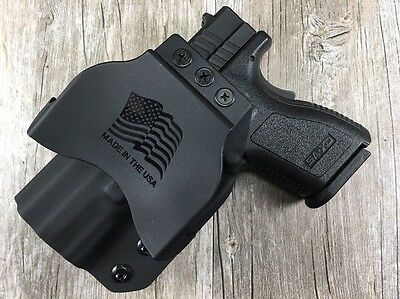 Owb Paddle Holster Springfield Armory Xd  3  Sub Compact 9Mm Kydex Retention Sdh