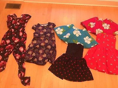 Lot Of Girls Abercrombie Kids Summer Clothes Dresses  Skirts Sz Large 14 16