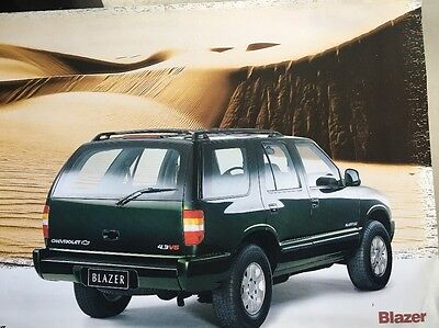 Car Brochure - 1997 Chevrolet Blazer - Brazil