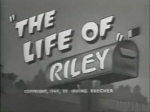 Life of Riley -Jackie Gleason- complete first season on DVD