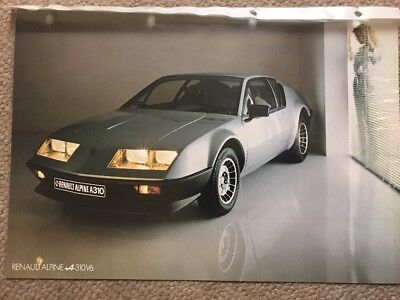 Car Brochure - 1978 Renault Alpine A310 V6 - Germany