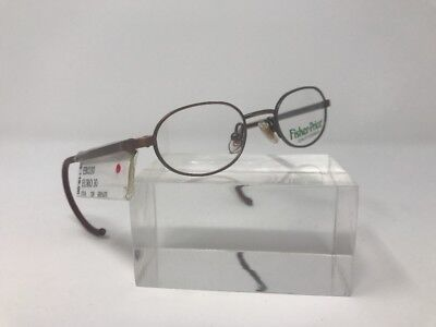 Fisher Price Kids Eyeglasses 37-16-120 Flex Hinge Brown =19