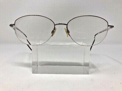 Silhouette Eyeglasses Theta 17 53-16-119 Pink Half Rimless E652 (Silhouette Kids Glasses)
