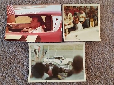 Lot Of 13 Vintage Aj Foyt Photos Indianapolis Indy 500 Sprint Car Nascar Usac