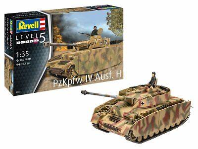 Revell 03333 - 1/35 WWII Dt. Panzer IV Ausf. H - Neu