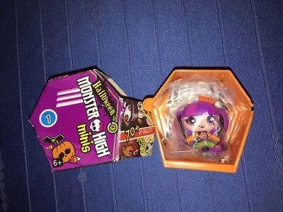 Monster High Halloween 1 (~DRACULAURA HALLOWEEN MONSTER HIGH MINIS~SEASON 1~Blind Box Mini)