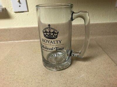 ROYALTY at Medieval Times decorative glass mug 7