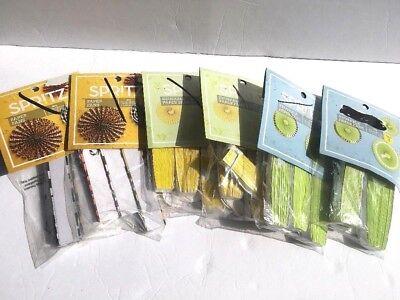 6pcs Set Party Wedding Tissue Paper Fans Birthday Hanging Fan Venue Decorations - Tissue Paper Decorations