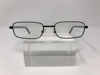 49 Dollar Glasses (Fargo Eyeglasses 49-17-135 Silver Dollar Black Grey)