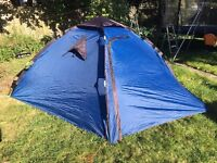 Trespass Rapid Pop Up 4 Man Tent - MINT CONDITION, USED ONCE