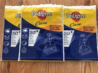 Pedigree Dog Puppy Poo Poop Waste Bags Easi Scoop Refill Poop Bags 150 bags
