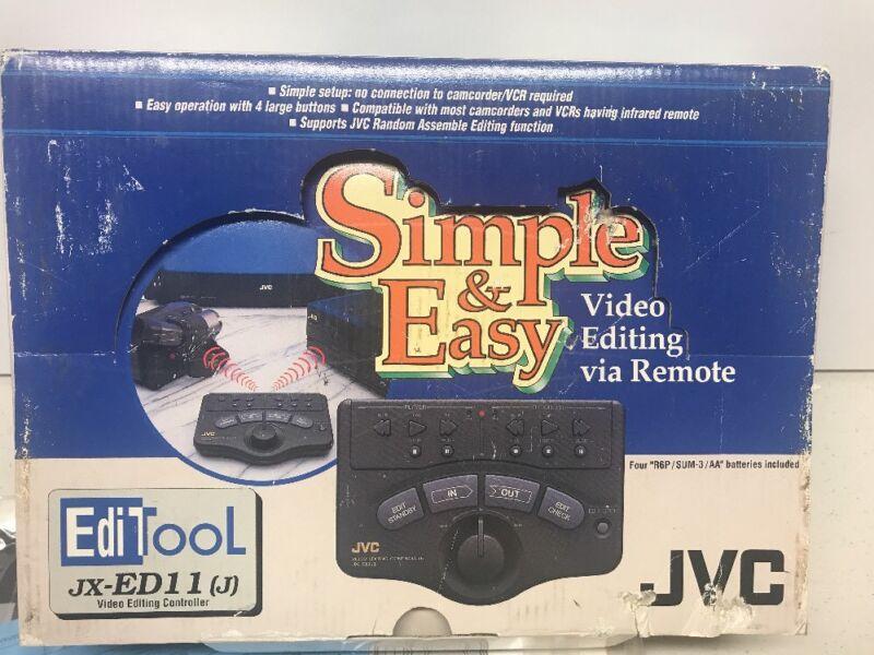 JVC Editool JX-ED11 (J) Video Editing Controller Complete W/ Manual