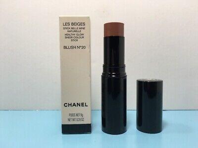 CHANEL - LES BEIGES - HEALTHY GLOW SHEER COLOUR STICK - BLUSH NO 20 - 0.28 (Chanel Les Beiges Healthy Glow Sheer Colour Stick)