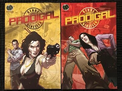Prodigal: the Egg of First Light #1-2 Complete Series Set - Ape Entertainment