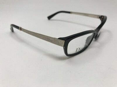 Christian Dior Eyeglasses CD3251 RHP Brushed Gold Black 50mm AD11