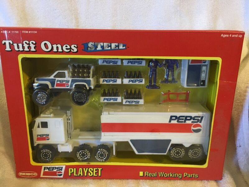 1991 Remco Tuff Ones Steel Pepsi Playset 11134