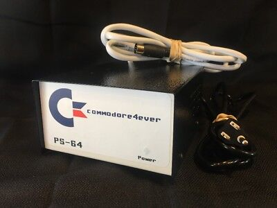 COMMODORE C-64 Power Supply BRAND NEW *Commodore4ever PS-64*