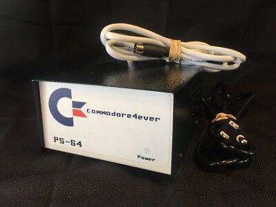 COMMODORE C-64 Power Supply BRAND NEW *Commodore4ever PS-64*