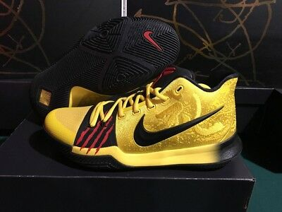 94e9e162c6c2ea Kyrie III 3 MM Black Mamba Bruce Lee US SZ 13.5 Mens AJ1672-700