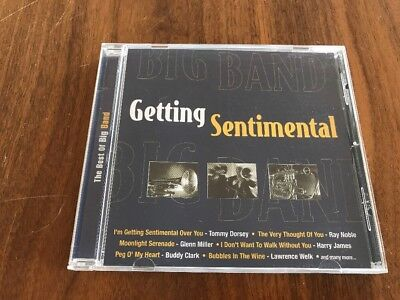 The Best of Big Band : Getting Sentimental by Various Artists (CD 2002)