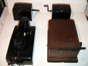 Antique Northern Electric phone system