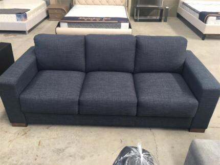 Brand New Thick Cushions 2+3 Seater Fabric Sofa