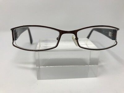 Authentic Dereon Eyeglasses DOC230 200 51-19-135 Readers Black/Silver W75