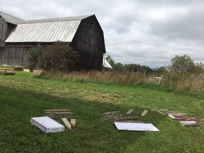 Primitive Antique VTG OLD Barn Wood For Sign Farm House country HALLOWEEN SCARY