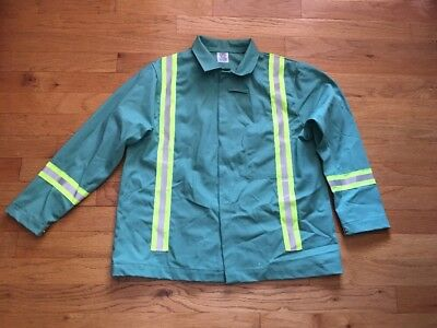 Westex Indura Steel Grip Fr Welders Jacket Coat Fr Flame Resistant Xl Reflective