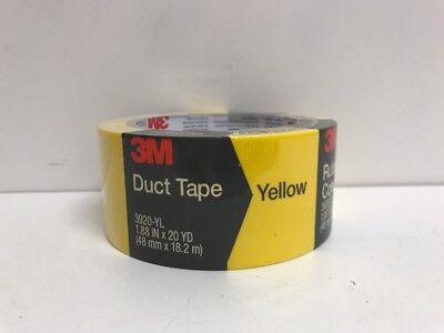 3M COMPANY 2-Inch x 20-Yard Yellow Duct Tape (Yellow Duct Tape)